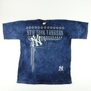 New York Yankees Men Tie-Dye T-Shirt A2106